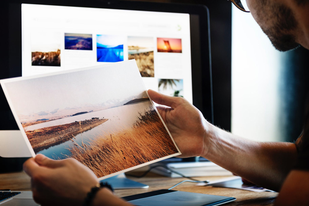 The impact of professional and relevant photography in web design