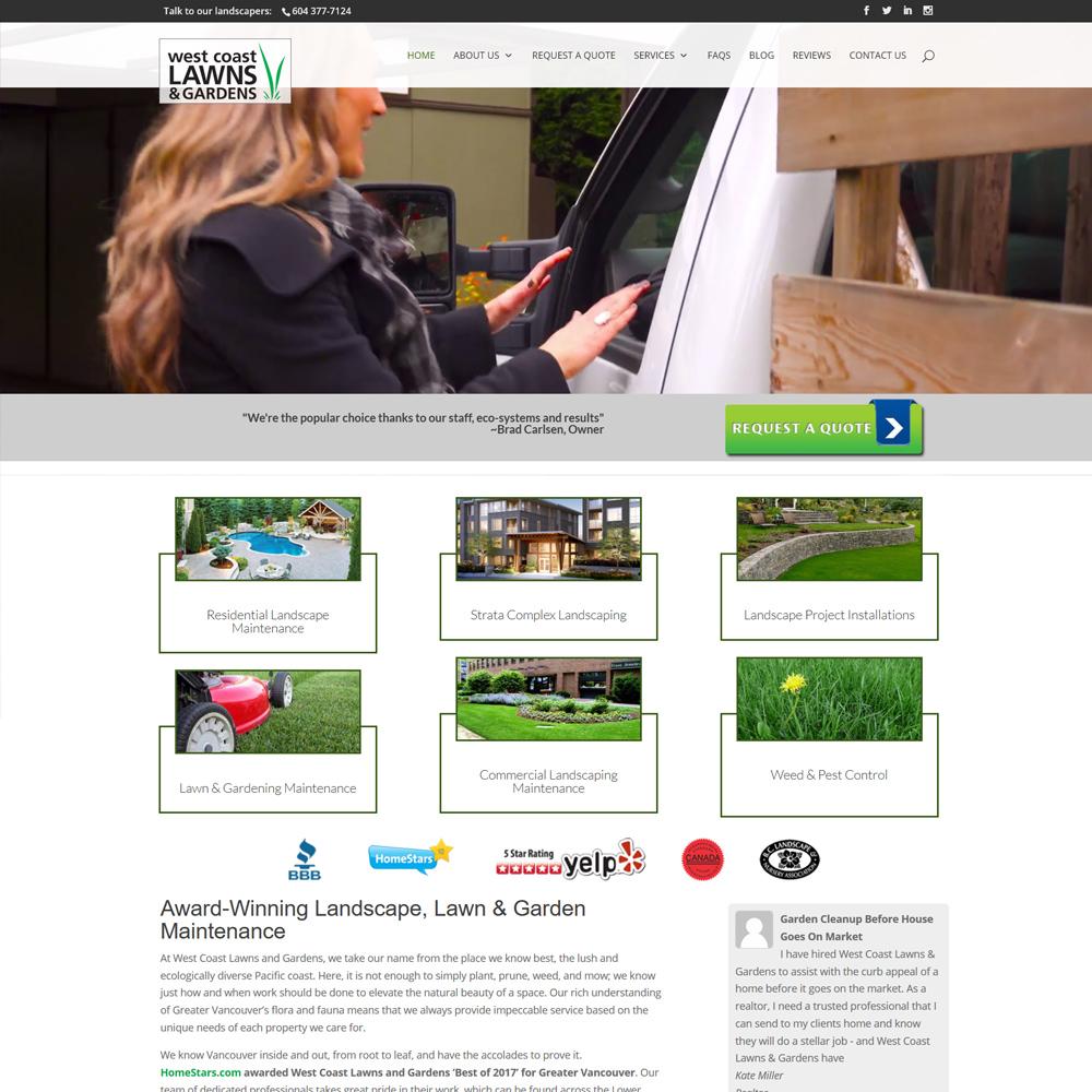Westcoast Lawns & Gardens