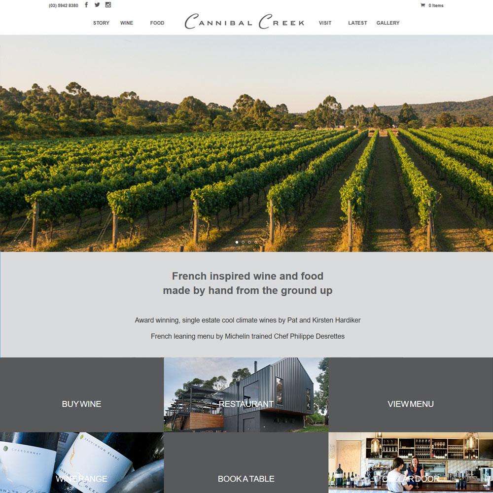 Cannibal Creek Winery