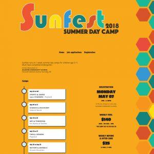 Sunfest Camp